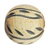Horn Beads Round Carved 18mm Natural Work On Bone